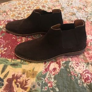 Kenneth Cole Reaction Desert Sky suede boots